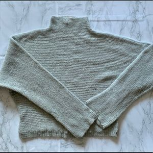 FREE PEOPLE Mohair Cowl Neck Sweater